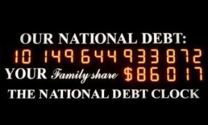 National Debt Clock runs out of digits!