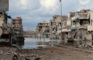 Sirte, after NATO bombing
