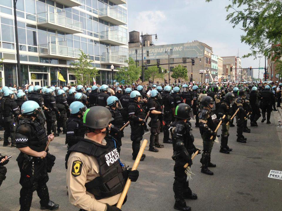police state - chicago