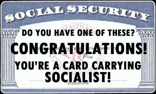 Card-carrying socialist?